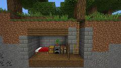 Как в майнкрафте построить дом под землей