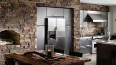 Как использовать искусственный камень в дизайне интерьера кухни