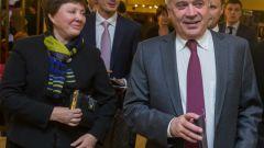Вагит  Алекперов с женой: фото