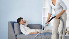 Как заставить мужчину убраться в квартире