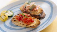 Закусочные бутерброды с начинкой