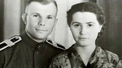 Жена Юрия Гагарина: фото