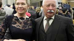 Жена Леонида Якубовича: фото
