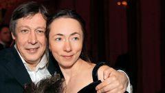 Жена Михаила Ефремова: фото
