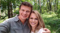 Жена Дмитрия Комарова: фото