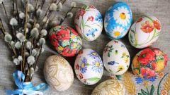 Как сделать декупаж яиц