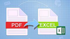 Как pdf конвертировать в excel