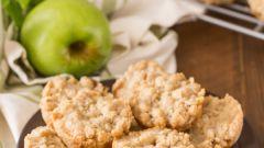 Как приготовить яблочное печенье с хрустящей масляной корочкой