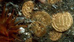 Как ищут клады под водой