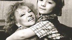 Дети Людмилы Гурченко: фото