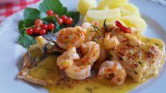 Как приготовить блюдо французской кухни «Судак а ля морли»