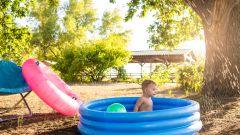 Надувной бассейн на даче – недорогая альтернатива экзотическим курортам
