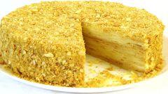 Торт Наполеон из магазинного теста