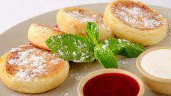 Как приготовить вкусные, пышные сырники