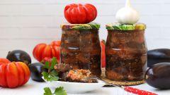 Как приготовить на зиму салат из перцев с баклажанами