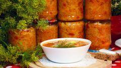 Овощные заготовки для супов и борщей
