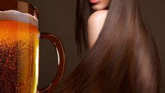 Как сделать маску для лица и волос на основе пива