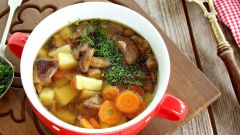 Рецепты приготовления грибного супа