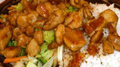 Как приготовить куриную грудку в кисло-сладком соусе с рисом и брокколи