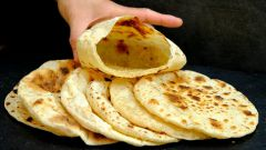 Как приготовить лепешки-кармашки «Пита» под любую начинку из 2 ингредиентов