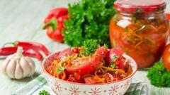 Как приготовить вкусные помидоры по-корейски