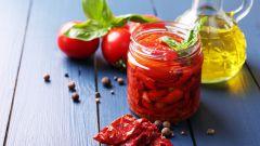 Как приготовить вкусные вяленые помидоры
