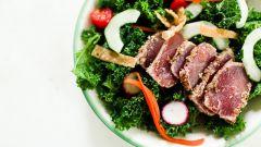 Как приготовить овощной салат с говядиной