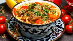 Как приготовить классический лагман по-узбекски