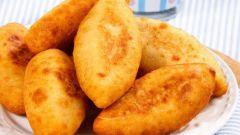 Картофельные пирожки с мясом, как у мамы