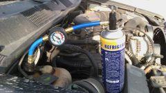 Замена фреона в автомобильном кондиционере