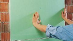 Как выровнять поверхность гипсокартоном клеевым методом