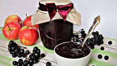 Как приготовить яблочный джем с черноплодной рябиной и ароматом апельсина