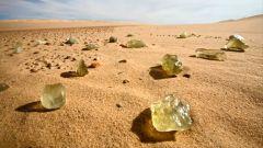 Загадки планеты: ливийское стекло