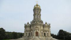 Как выглядит Знаменская церковь в Подмосковной усадьбе Дубровицы