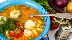 Как приготовить суп с фрикадельками из кролика