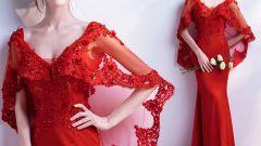 Самые привлекательные красные платья: благородство и стиль