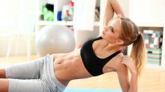 Как сохранить плоский живот женщине за 40