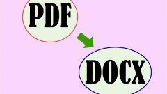 Как pdf перевести в word для редактирования видео