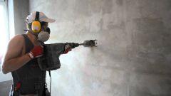 Строительные работы по штроблению стен для укладки проводки