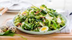 Как приготовить летние салаты из щавеля