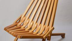 Как сделать складное деревянное кресло самостоятельно