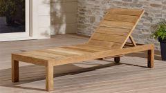 Как просто сделать деревянный шезлонг