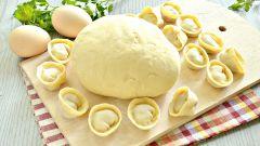 Как приготовить тесто для пельменей на желтках