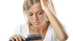Натуральный уход за выпадающими волосами