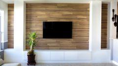 Ламинат на стене: красиво и просто