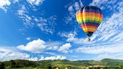 Воздушный шар как современное прогулочное туристическое судно