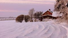 Как зимой утеплить дом в деревне, не затратив на это ни копейки