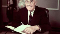Франклин Делано Рузвельт: краткая биография