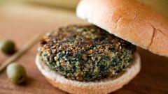 Как приготовить грибные бургеры с миндалем и шпинатом