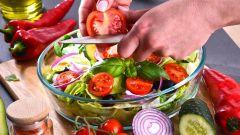 Топ-10 летних овощных салатов